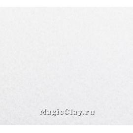 Фетр жёсткий Корея 1,2мм, 26*33мм, цвет Белый