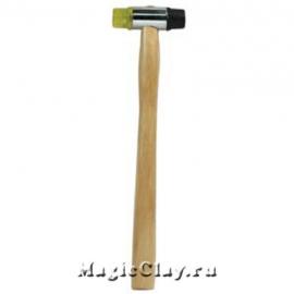 Молоток для чеканки проволоки, резиновая и пластиковая головки