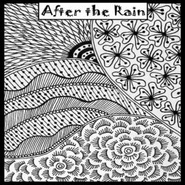 Helen Breil текстурный лист After the Rain