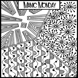 Helen Breil текстурный лист Manic Monday