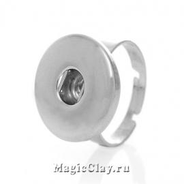 Chunk Основа для кольца, цвет серебро