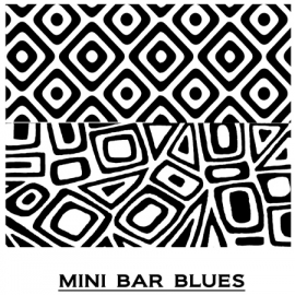 Pixie Art Stamps текстурный лист Mini Bar Blues