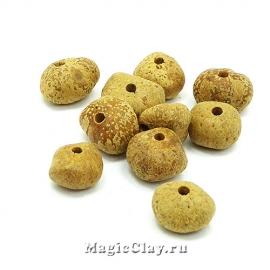 Бусины деревянные Бодхи Семена 13~17x8~12мм, 1уп (10шт)
