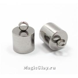 Концевик с ушком 15х11мм, сталь, 1шт