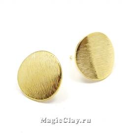 Швензы гвоздики Геометрия Круг, Real Gold