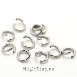 Колечки разъемные 6х1мм, сталь, 1уп (~100шт)
