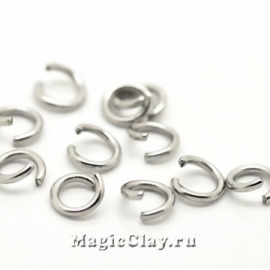 Колечки разъемные 5х0,7мм, сталь, 16гр (~400шт)