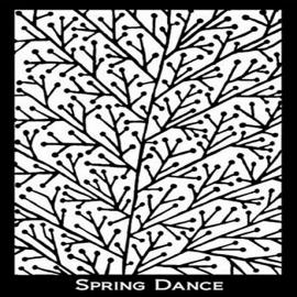 Silk Screen трафарет Spring Dance