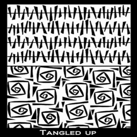 Silk Screen трафарет Tangled Up