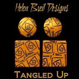 Silk Screen трафарет Tangled Up