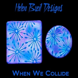 Silk Screen трафарет When we Collide