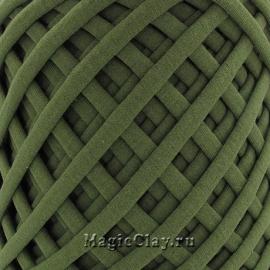 Трикотажная пряжа Biskvit, цвет Хаки, 10 метров