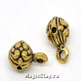 Бейл Севилья 12х7мм, цвет золото, 1шт