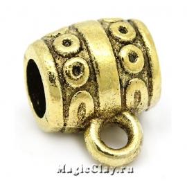 Бейл Вояж 10х9мм, цвет золото, 5шт