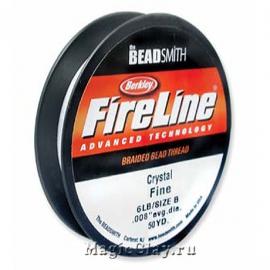 Нить FireLine 6lb, цвет Прозрачный