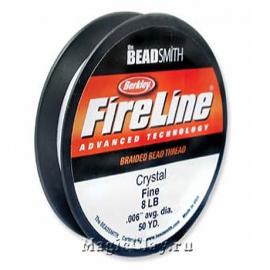 Нить FireLine 8lb, цвет Прозрачный