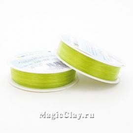 Леска для бисероплетения Гамма 0,3мм, цвет салатовый