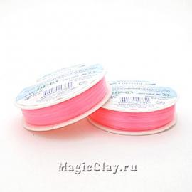 Леска для бисероплетения Гамма 0,3мм, цвет светло-розовый