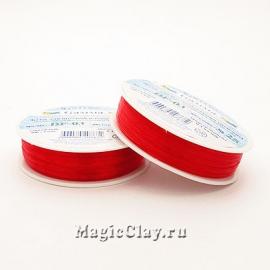 Леска для бисероплетения Гамма 0,3мм, цвет красный