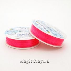 Леска для бисероплетения Гамма 0,3мм, цвет розовый