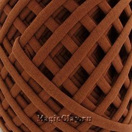 Трикотажная пряжа Biskvit, цвет Брауни, 10 метров
