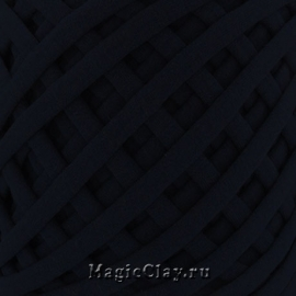 Трикотажная пряжа Biskvit, цвет Черный, 10 метров