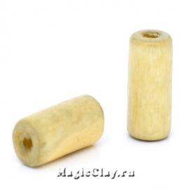Бусины деревянные Пальма 12х6мм, 1уп (~50шт)