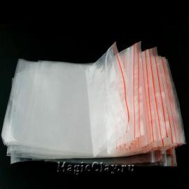 Пакеты с zip-застежкой, 8х6 см