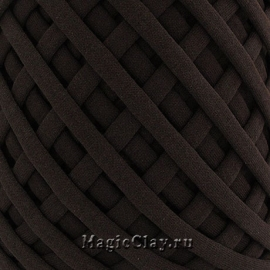 Трикотажная пряжа Biskvit, цвет Шоколад, 10 метров