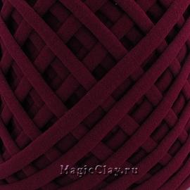Трикотажная пряжа Biskvit, цвет Марсала, 10 метров