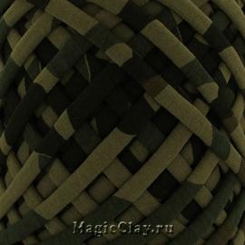 Трикотажная пряжа Biskvit, цвет Милитари2, 10 метров