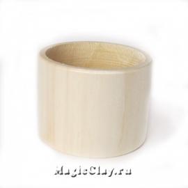 Деревянная основа для браслета плоская 5см, 1шт