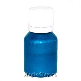 Краситель перламутровый ПЭО, Синий Шёлк