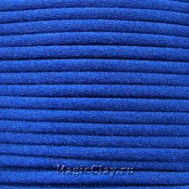Шнур нейлоновый 2мм Синий Яркий, 5 метров