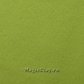 Фетр для рукоделия Rayher 20*30 см, цвет Зелёный Светлый