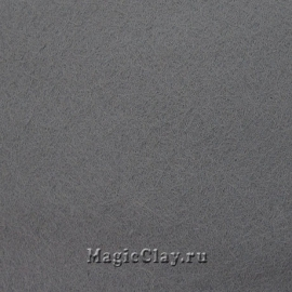 Фетр для рукоделия Rayher 20*30 см, цвет Серый Тёмный