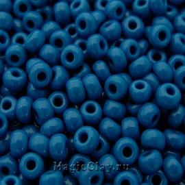 Бисер чешский 10/0 Непрозрачный, 33210 Blue, 41гр