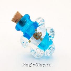 Бутылочка муранское стекло, Лазурный Берег