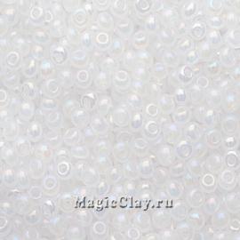 Бисер чешский 8/0 Непрозрачный, 57205 White Alabaster, 41гр