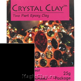 Эпоксидная глина Crystal Clay, Черный