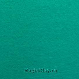 Фетр для рукоделия жесткий 20*30см, цвет Мятный