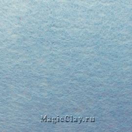 Фетр для рукоделия жесткий 20*30см, цвет Голубой