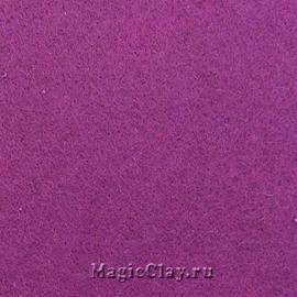 Фетр для рукоделия жесткий 20*30см, цвет Лиловый