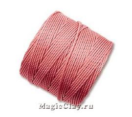 Нейлоновая нить Super-LON, Розовый Теплый
