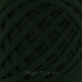 Трикотажная пряжа Biskvit, цвет Зеленый Темный, 10 метров