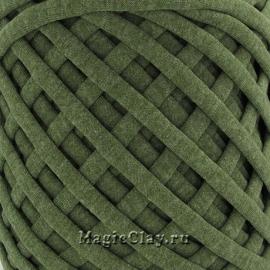 Трикотажная пряжа Biskvit, цвет Меланж Хаки, 10 метров