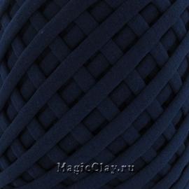 Трикотажная пряжа Biskvit, цвет Синий Бархат, 10 метров