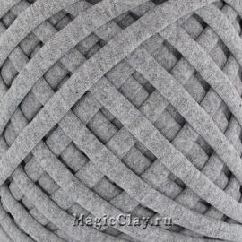 Трикотажная пряжа Biskvit, цвет Меланж Серый, 10 метров